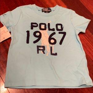 Brand new polo Ralph Lauren boy tee size 18month